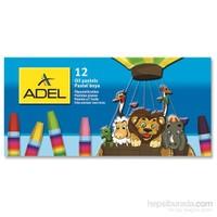 Adel Karton Kutu Pastel Boya 12 Renk (4280837000)