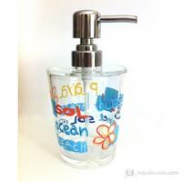 Deniz Desen Akrilik Sıvı Sabunluk