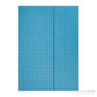 Paper-Oh 9008-3 Circulo A4 Çizgili Blue On Grey Defter
