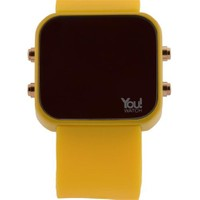 You Watch Yellow Buttons Unisex Kol Saati