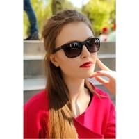Morvizyon Clariss Marka Siyah Çerçeve Tasarımlı Yeni Sezon Bayan Güneş Gözlük Modeli