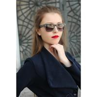 Morvizyon Clariss Marka Yeni Sezon Siyah Camlı Bayan Güneş Gözlük Modeli