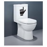 Artikel Burası Banyo Sticker DP-916