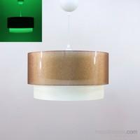 Crea Lighting/Fosforix Sarkıt 40 Cm/Şeffaf /Bakır