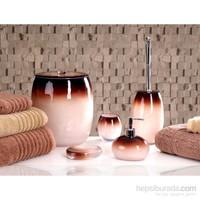 İrya Stria Kahve 5 Parça Banyo Set