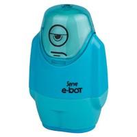 Serve E-Bot Silgi+Kalemtıraş 9'Lu Karton Kutu Mavi Sv-Ebot9Ktfm
