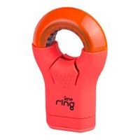 Serve Ring Silgi+Kalemtıraş 8'Li Karton Kutu Fosforlu Kırmızı Sv-Rıng8Ktfk