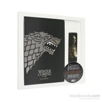 Game Of Thrones Notebook & Bookmark Set Stark Defter