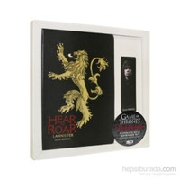 Game Of Thrones Notebook & Bookmark Set Lannister Defter