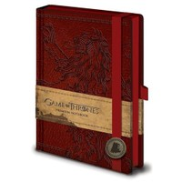 Pyramid International A5 Premium Defter - Game Of Thrones Lannister