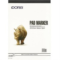 İdora Marker Pad A4, 40 Yaprak, 70Gr.