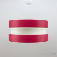 Crea Lighting Doubleshade Twin Sarkıt ( 40Cm )Scala /Kırmızı