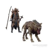 Fimbul & Warg Hobbit - Orc Ve Kurt Figürü