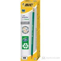 Bic Eco Evolution 655 Silgili Kurşun Kalem 12'li Kutu
