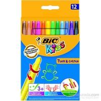 Bic Kids Turn&Colour Pastel Boya 12'li Kutu