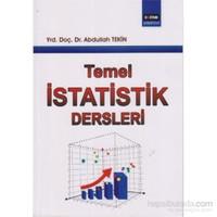 Temel İstatistik Dersleri-Abdullah Tekin