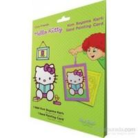 Hello Kitty 1 Kum Boyama Kartları