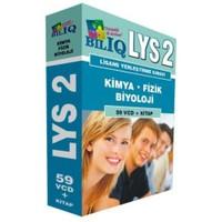 BİL IQ LYS 2 Kimya,Fizik, Biyoloji Hazırlık Seti 59 VCD+Kitap