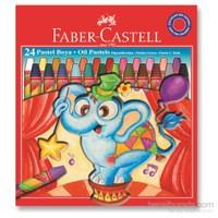 Faber-Castell Redline Karton Kutu Pastel Boya 24 Renk (5282125324)