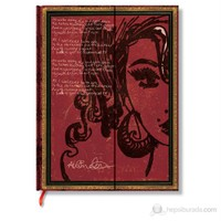 Paperblanks Amy Winehouse Ultra Cizgili 180 x 230mm. 2526-9