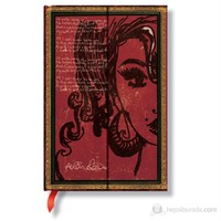 Paperblanks Amy Winehouse Mini Çizgili 95x140mm. 2527-6