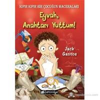 Kıpır Kıpır Bir Çocuğun Maceraları : Eyvah Anahtarı Yuttum-Jack Gantos