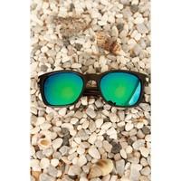 Morvizyon Clariss Marka Mavi & Yeşil Renkli Cam Tasarımlı Unisex Güneş Gözlük Modeli