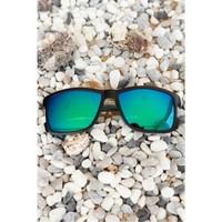 Morvizyon Clariss Marka Siyah Çerçeveli Renkli Cam Tasarımlı Unisex Güneş Gözlük Modeli
