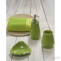 Aquisse Harmony 4 Parça Banyo Seti Fıstık Yeşili