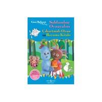Gece Bahçesi - Saklambaç Oynayalım Çıkartmalı Oyun ve Boyama Kitabı