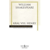 Kral Vııı. Henry (Ciltsiz)-William Shakespeare