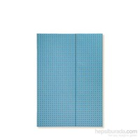 Paper-Oh 9019-9 Circulo A5 Çizgisiz Blue On Grey Defter