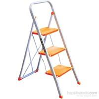 Hiper 3 Basamaklı Merdiven Turuncu 2958