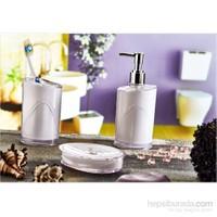 Hiper 3'Lü Banyo Seti Beyaz