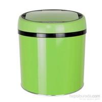 Hiper Sensörlü Çöp Kovası 6 Lt. Yeşil