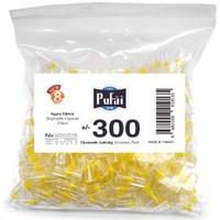 Pufai Disposable Cigarette Filters Economic Pack 300 – Pufai Tek Kullanımlık Sigara Filtresi 300 Adet Ekonomik Ambalaj