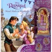 Rapunzel Masal Kitabı ve Müzik Çalar