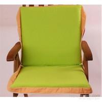 Yastıkminder Fıstık Yeşil Çizgili Koton Çanta Şezlong Minderi