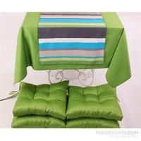 Yastıkminder Koton Yeşil 4 Lü Minder Seti