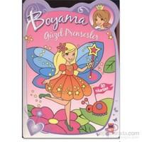 Güzel Prensesler - Mor Boyama Kitabı