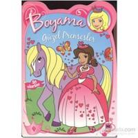 Güzel Prensesler - Pembe Boyama Kitabım-Kolektif