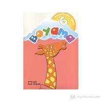 Renkli Örnekli Eğitici Boyama 6