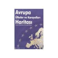 Avrupa Ülkeler ve Karayolları Haritası