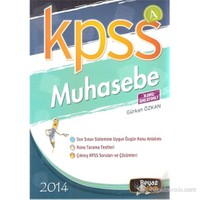 Beyaz Kalem KPSS-A 2014 Muhasebe Konu Anlatımlı