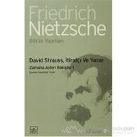 David Strauss, İtirafçı Ve Yazar