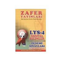 Zafer LYS-4 Sosyal Bilimler (Tarih-Coğrafya 2-Felsefe Grubu) Deneme Sınavları