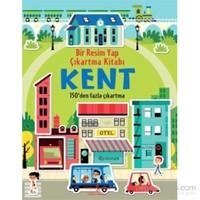 Bir Resim Yap Çıkartma Kitabı - Kent-Hannah Wood