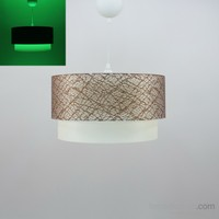 Crea Lighting Fosforix Sarkıt 40 Cm/File/Kahve