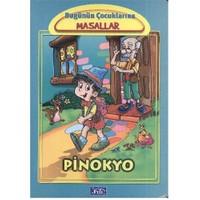 Bugünün Çocuklarına Masallar Dizisi: Pinokyo (Küçük Boy-Karton) - Marta Lucia Ghiglioni