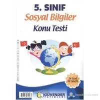 Güvender 5. Sınıf Sosyal Bilgiler K.T.